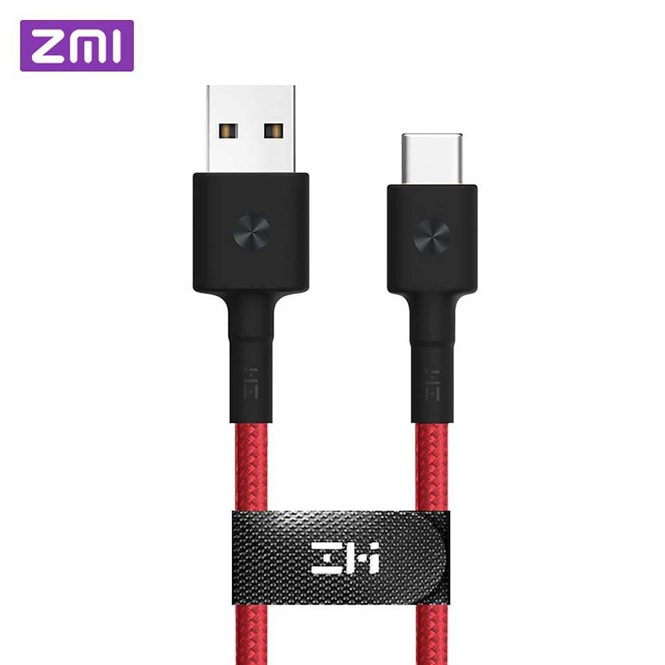 Cabo original do usb de zmi tipo-c para o mfi certificado para o cabo de dados do relâmpago do iphone para o carregador de iphone x 8 7 6 s mais