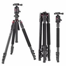Zomei Aluminium Camera Tripod 63 Inch with Ball Head Quick Release Plate DSLR Travel Tripod for SLR Dslr DV