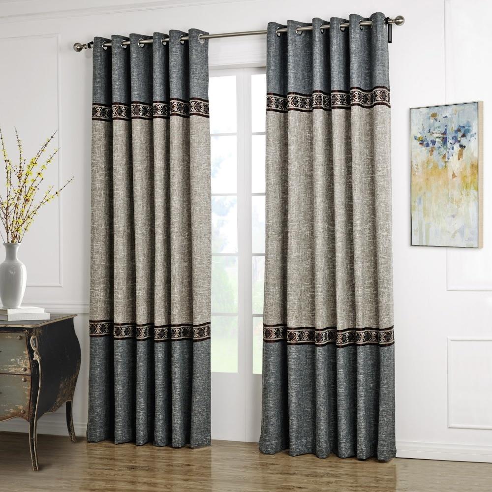 Cafe curtains for living room - Aliexpress Com Buy Chinese Curtains Striped Lace Curtain Curtain Cortinas Living Room Villa Cafe Curtains For