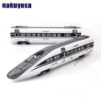 45 CM duży Model pociągu Kolejowego kolejowego pociągi elektryczne pociągu toru High Speed railroad Orbitalnej toy 1:32 utworów