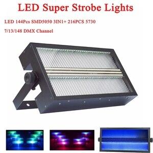 RGB 3IN1 Strobe Light LED Disc