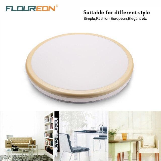 20inch 30w round flush mount led ceiling light 110v 220v for living room light fixture