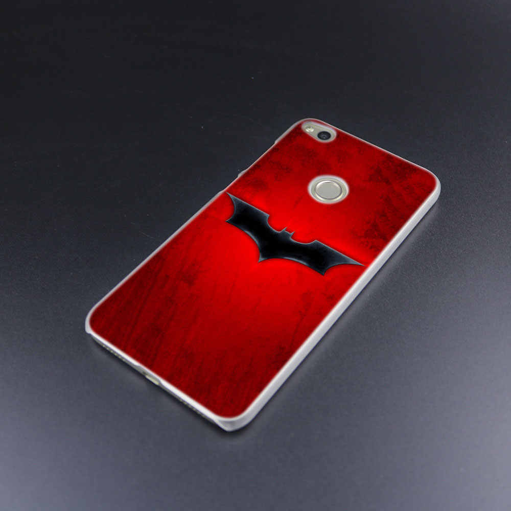 MLLSE Batman Logo Copertura Dura di Caso di Modo per Huawei NOVA 3 3i 4 Honor V20 8X 8A 7A Pro 7X 7C 7S 8 9 10 Lite Gioco Della Copertura Calda