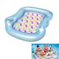Двухместный надувной бассейн поплавок плавающей воздушной подушке утолщение Новинка бассейн поплавок плоты ПВХ плавающей кровать