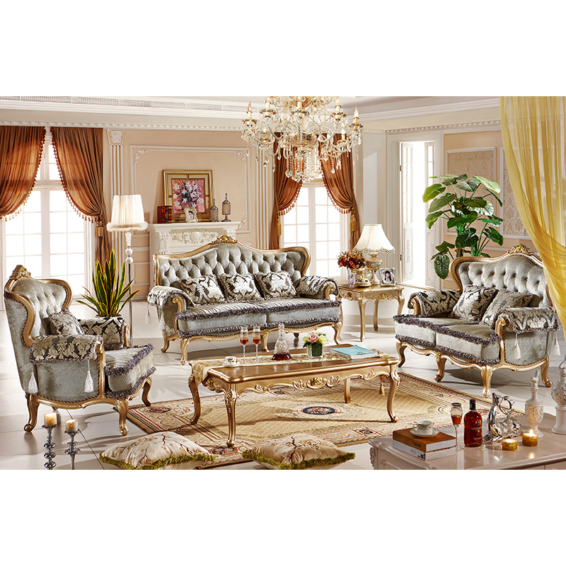 US $2727.0 |foshan living room furniture royal classic design fabric  furniture sofa set-in Living Room Sets from Furniture on AliExpress