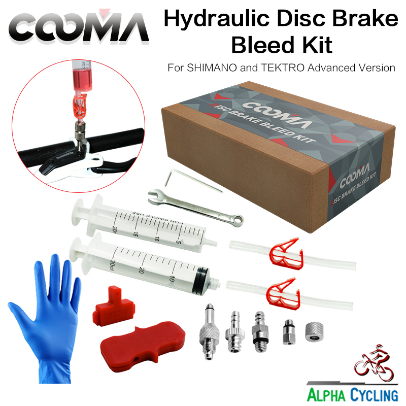 COOMA's Hydraulic Brake BLEED KIT for SHIMANO and TEKTRO ...