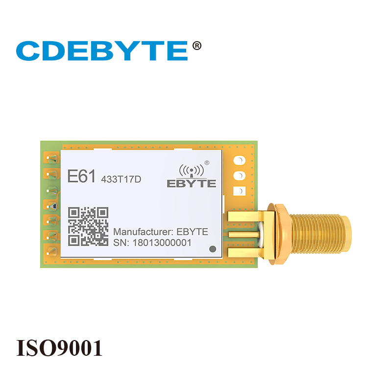 E61-433T17D 433mhz 50mW SMA Antenna IoT Uhf Wireless Transceiver Continuous Transmission 433 Mhz Data Transmitter Receiver