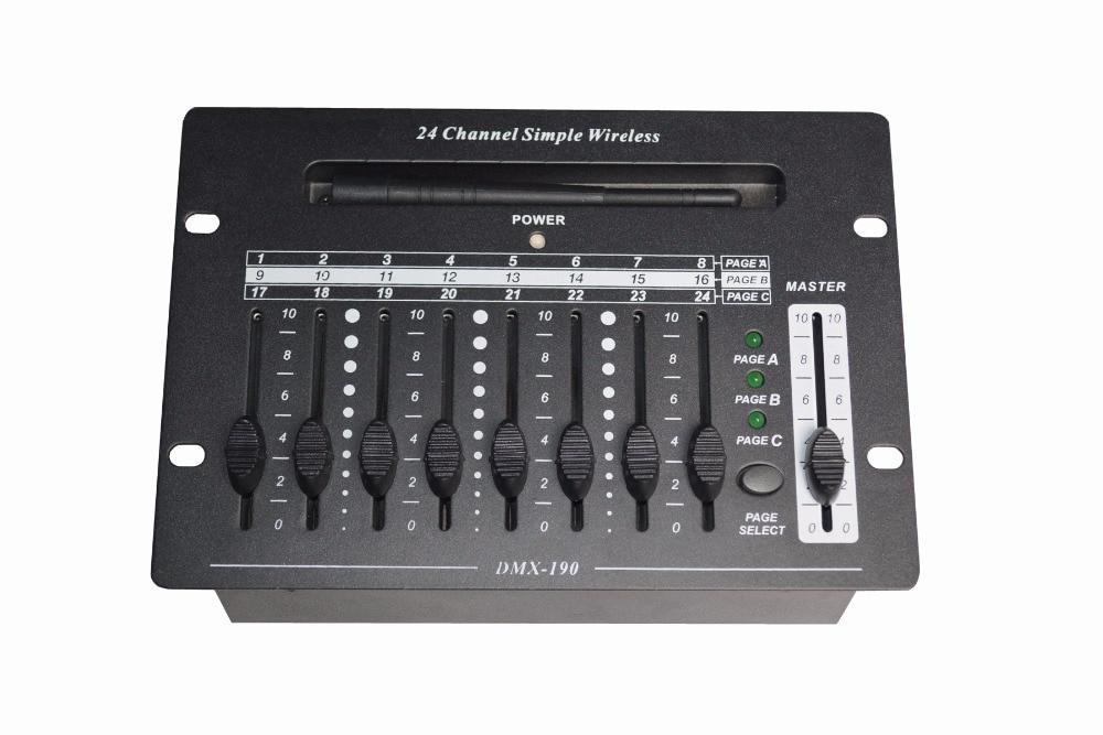 Wireless DMX Controller DMX Lighting Controller 24 Channels dmx512 digital display 24ch dmx address controller dc5v 24v each ch max 3a 8 groups rgb controller