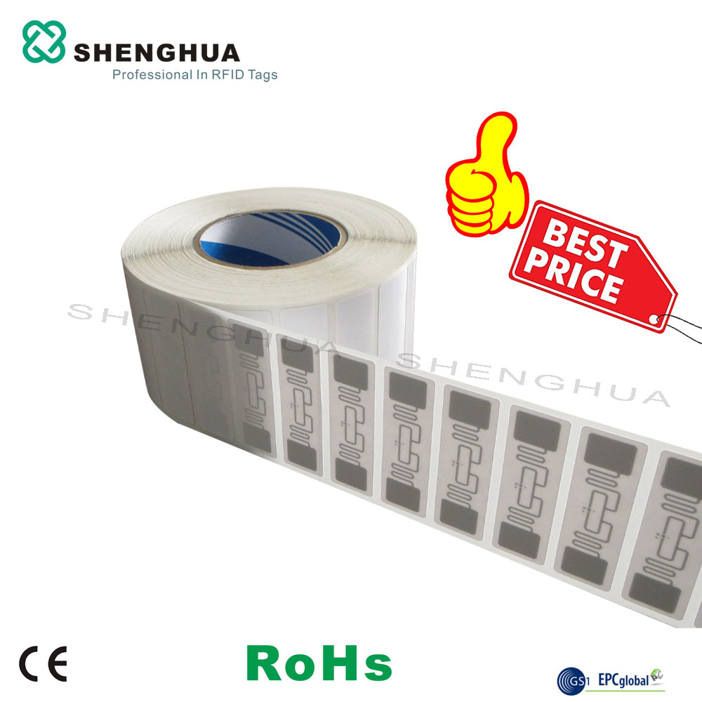 Cheap Sale 1000pcs Epc Long Read Distance Paper Blank Tamper Proof Uhf Rfid Self Adhesive Tag Sticker For Warehouse Logistics Access Control