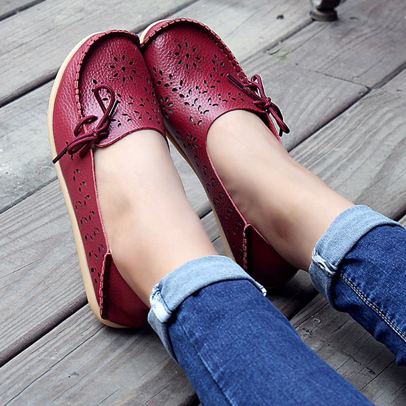 Women Flats New Breathable Solid Women Casual Shoes Lady Comfortable Round Toe Summer Loafers Ladies Flats YDT679 women s shoes 2017 summer new fashion footwear women s air network flat shoes breathable comfortable casual shoes jdt103