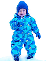 Fashion Baby Rompers Membrane For Winter childrens Kids Windproof Ski Rompers Boys Girls Jumpsuit Toddler Overalls 102792