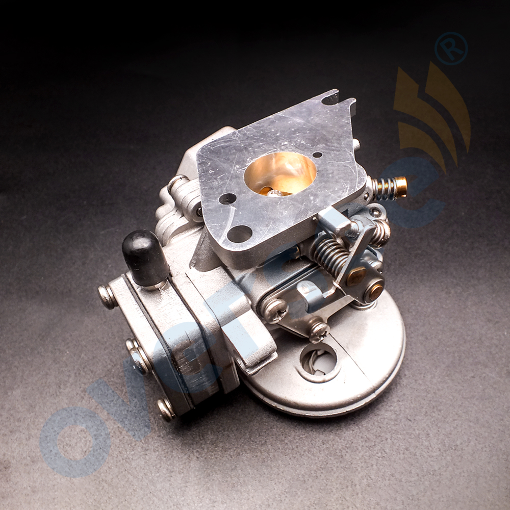 6E3-14301-00 Carburetor For Yamaha 4HP 5HP 2 Stroke Outboard Engine Boat Motor 6E0-14301-05 6E3-14301 6E0-14301 boat engine propeller 7 1 4x6 bs for yamaha 2 5hp 3hp 4hp 5hp f2 5a 3a malta outboard motor 7 1 4 x 6 bs free shipping