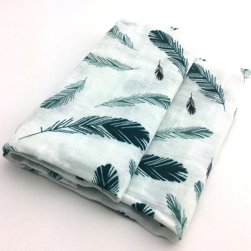 Новинка; хлопковое детское одеяло для новорожденных; мягкое детское одеяло из органического хлопка; муслиновое Пеленальное Одеяло для кормления; тканевое полотенце; шарф; детские вещи - Цвет: 03