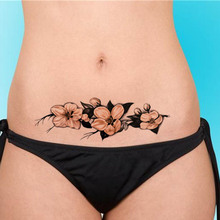 Waterproof Flower Body Art Stickers