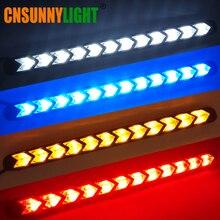 CNSUNNYLIGHT водостойкий стрсветодио дный ела СИД DRL последовательный сигнал поворота для автомобиля белый передние дневные ходовые огни Янтарный светильник Стайлинг DC 12 В в