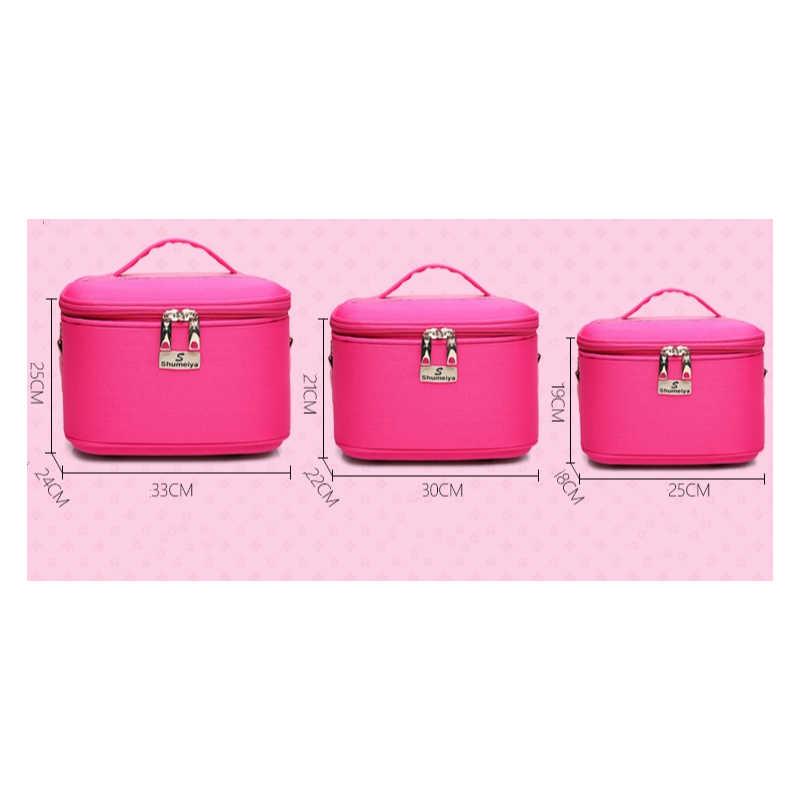 f8358e48346 ... Makeup Organizer Waterproof Makeup Bag Travel Organizer Cosmetic Bag  for Women Travel Large Capacity Storage case ...