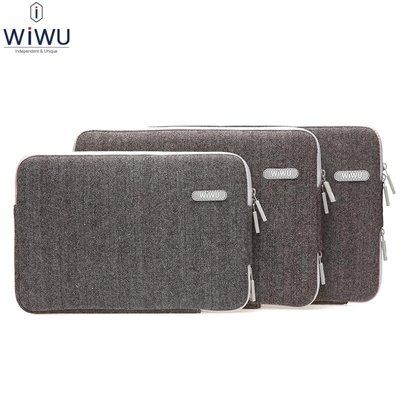Wiwu Notebook Sleeve bag for Apple Macbook Air Pro 13 15 iPad 12.9 Laptop Tablet Computer Bag Case 11.6 13.3 15.4 Shockproof