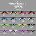 2.42 M Gran Truco Kite Línea Quad Power Sport Kite juegos Al Aire Libre Incluyen Línea de Vuelo de la Cometa Maneja