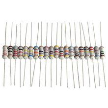 200pcs/lot 20 Value*10pcs 1W 5% Resistors Resistance Assortment Kit 10 ohm – 1M ohm Set 11X3mm Electronic lovers Resistor Set