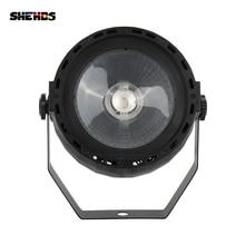 Dobrej jakości LED Par COB 30W RGB 3w1 DMX512 efekt sceniczny oświetlenie dobre dla DJ Disco przyjęcia urodzinowe parkiet taneczny klub nocny Bar