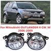For Mitsubishi OUTLANDER 2 II CW W 2006 2009 10W Fog Light LED DRL Daytime Running