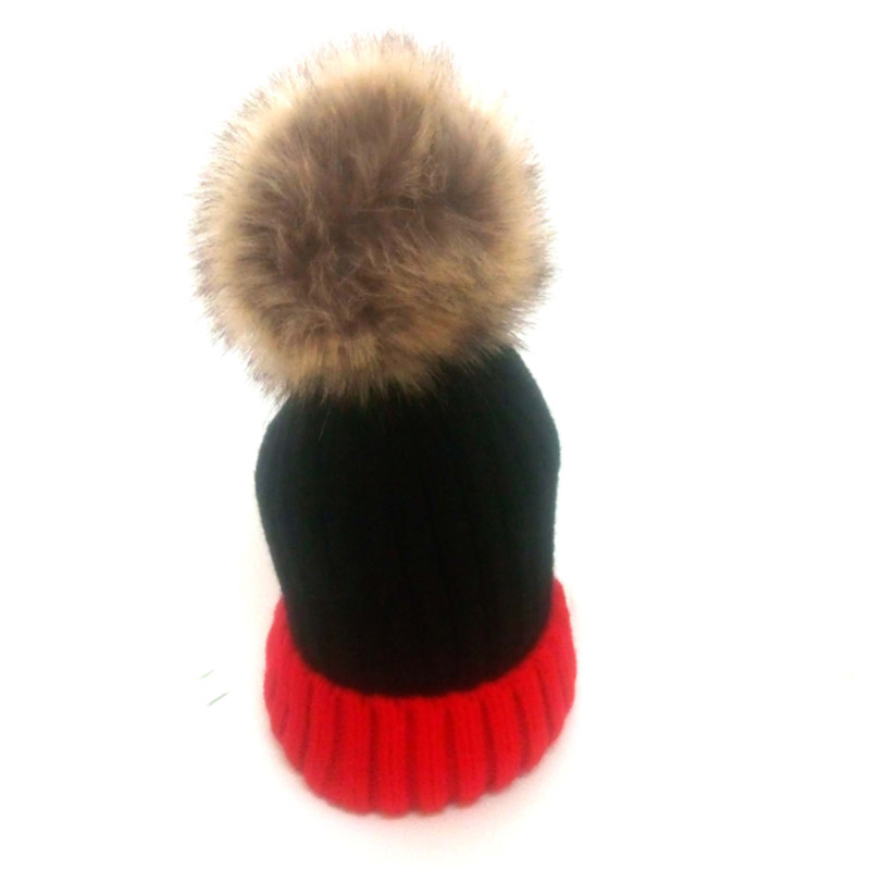 Winter Hats For Women Skullies Beanies Caps Manmade Fur pompon Hat Girls Cardigan Warm Gravity Fall Hat gorros mujer invierno in Women 39 s Skullies amp Beanies from Apparel Accessories