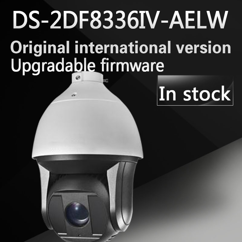 In stock free shipping english version DS-2DF8336IV-AELW 3MP High Frame Rate Smart PTZ Camera 36X Optical Zoom speed dome camera ds 2df8336iv ael english version 3mp high frame rate smart ptz camera 120db true wdr 36x optical zoom speed dome camera