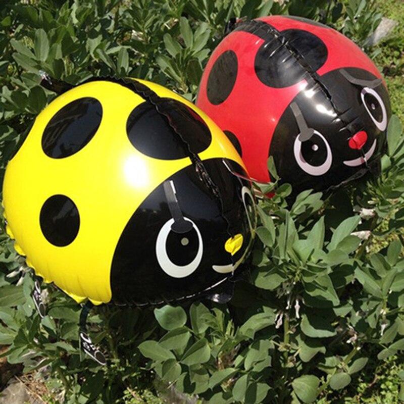 Compra mariquita decoraci n cumplea os online al por mayor - Llenar globos con helio ...