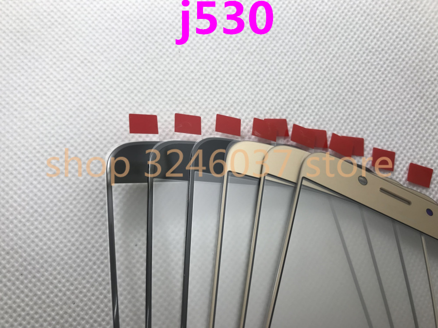 10pcs Original Replacement LCD Front Touch Screen Outer Glass Lens For Samsung Galaxy J5 2017 J5
