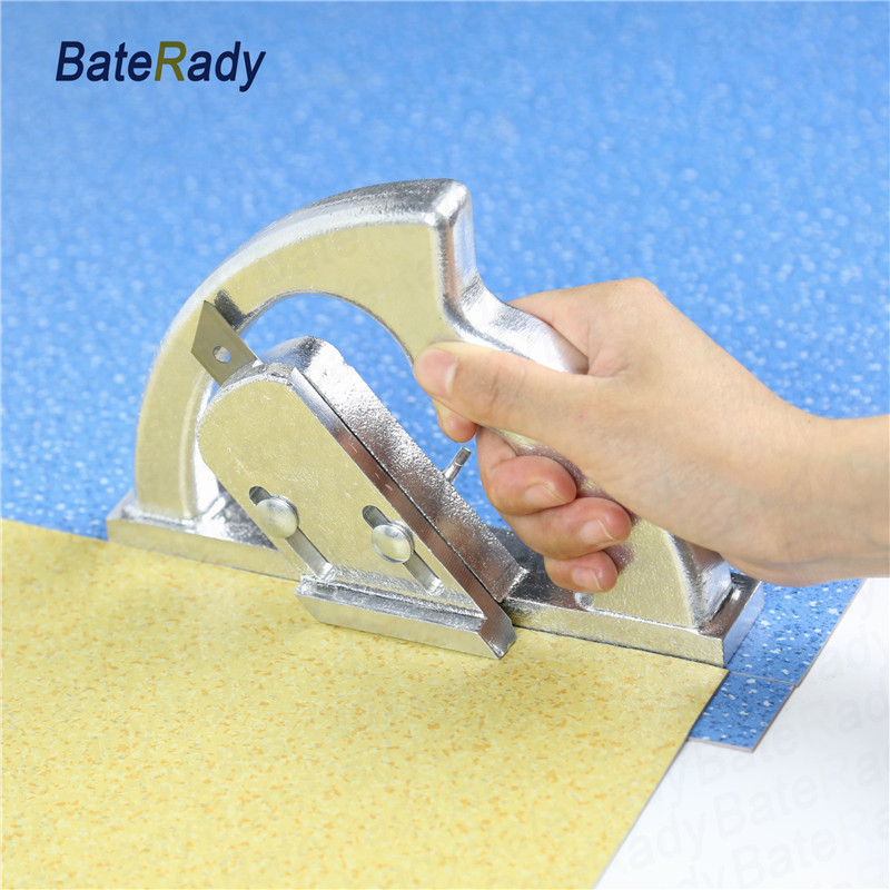Big one PVC roll floor edge cutting tools,Linen coil flooring patchwork seam,BateRady vinyl floor seamless knife,no blade transforming hatha yoga