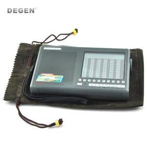 Image 4 - מקורי Degen DE1103 DSP רדיו FM SW MW LW SSB העולם הדיגיטלי מקלט & חיצוני אנטנת רדיו FM