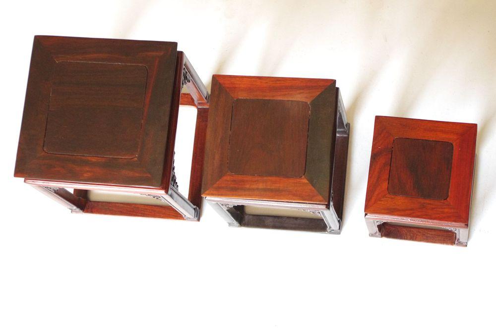 Palissandre abat-jour carré pergolas parquet bois pergolas petit mobilier classique chinois, meubles anciens Ming