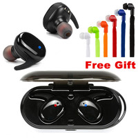 E XY Capsule Wireless TWS Earbuds V5.0 Bluetooth Earphones Headset Deep Bass Stereo Sound Sport Headphone For Samsung Iphone