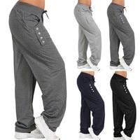 Men Yoga Pants Autumn Winter Sweatapnts Yoga Trousers Male Running Jogging Leisure Workout Athletic Fitness Track Pants Trousers