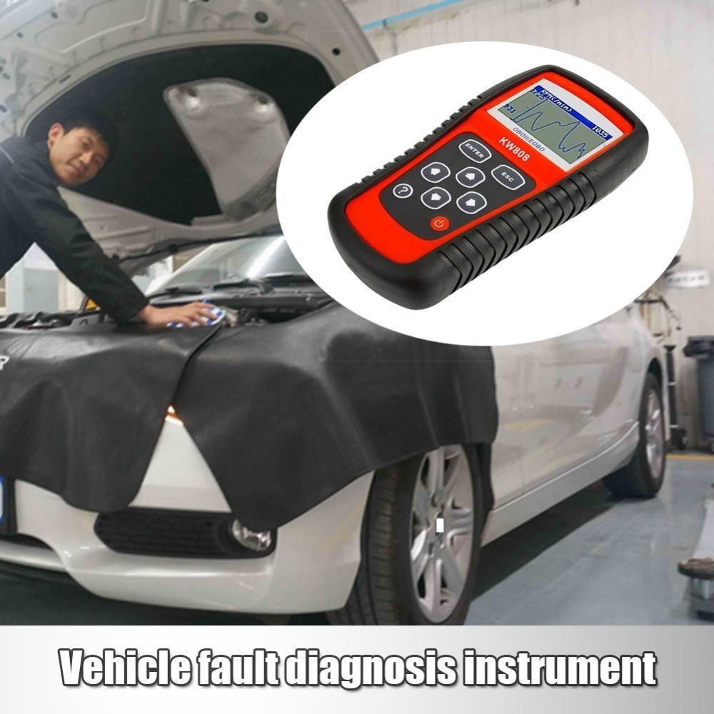 Original Universal Car Diagnostic Scanner Color Red Code Reader Engine Analyzer with Multi Languages