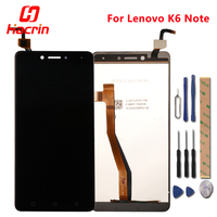For Lenovo K6 Note LCD Display Touch Screen 5 5 Test Good Digitizer Assembly Glass Panel