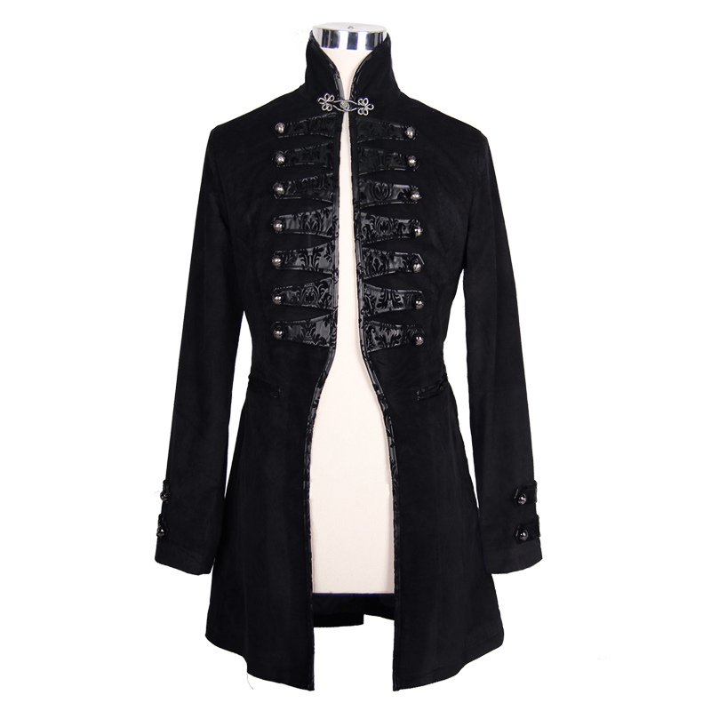 d51334c8b Coats & Jackets Devil Fashion Retro Men Jacket Gothic Coat Red Steampunk  Punk Rock Long Coat