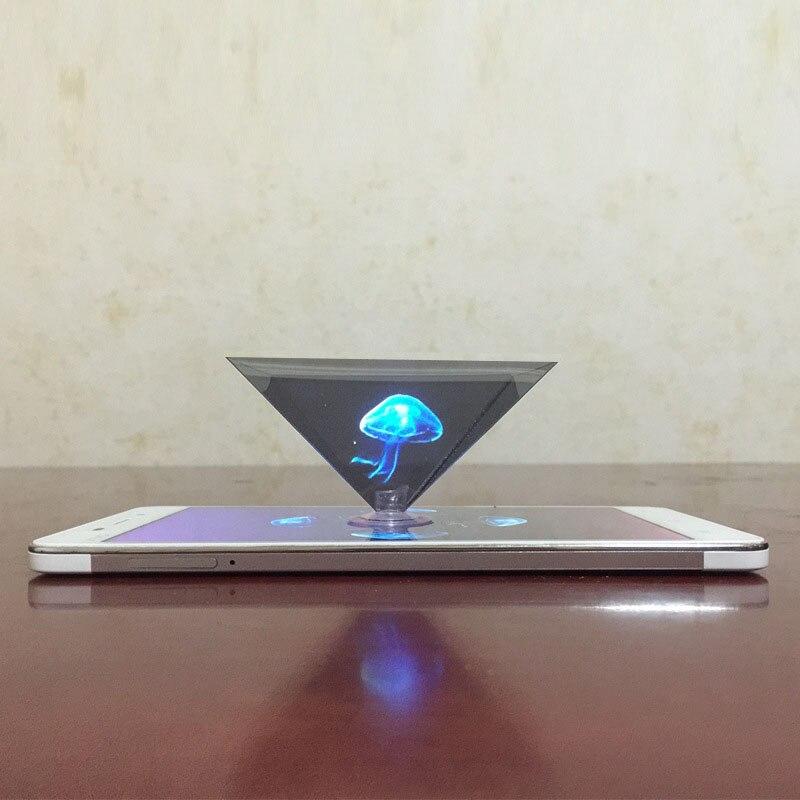 Dropshipping 3d Hologramm Pyramide Display Projektor Video Ständer Universal Für Smart Handy Sd998 Professionelles Design