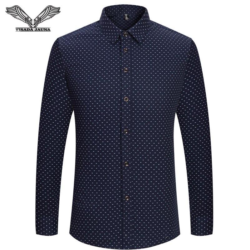 Business Men Dress Shirts 2016 New Arrvials Cotton Mens Shirt Long Sleeved Casual Camicia Uomo Fashion