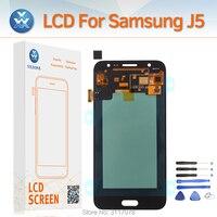 Super AMOLED 5 Pantalla For Samsung Galaxy J5 2015 J500 SM J500FN LCD Display Touch Digitizer