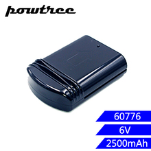 6V 2500mAh Ni-MH Rechargeable Battery For Eureka 60776 39150 for 96 Series 96DZ 96JZ 96A 68112