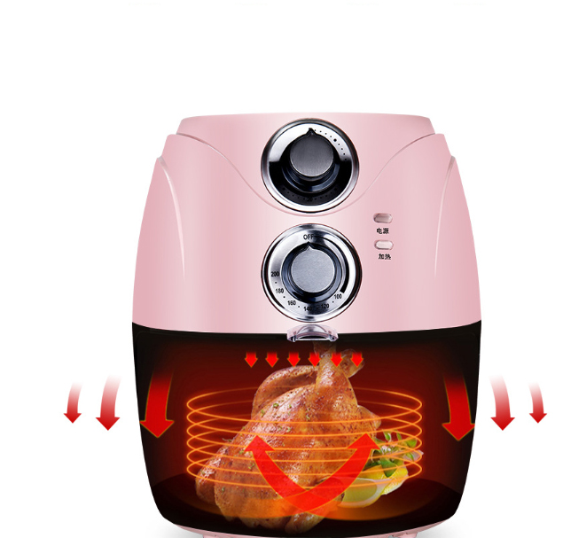 2.5L air fryer Intelligent Automatic large chicken fish baker household  chips nuggets mozzarella stick maker Oven NO smoke Oil 2.5L air fryer Intelligent Automatic large chicken fish baker household  chips nuggets mozzarella stick maker Oven NO smoke Oil