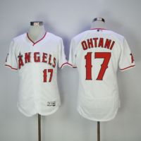 MLB 2018 Men S Los Angeles Angels Shohei Ohtani White Flex Baseball Jersey
