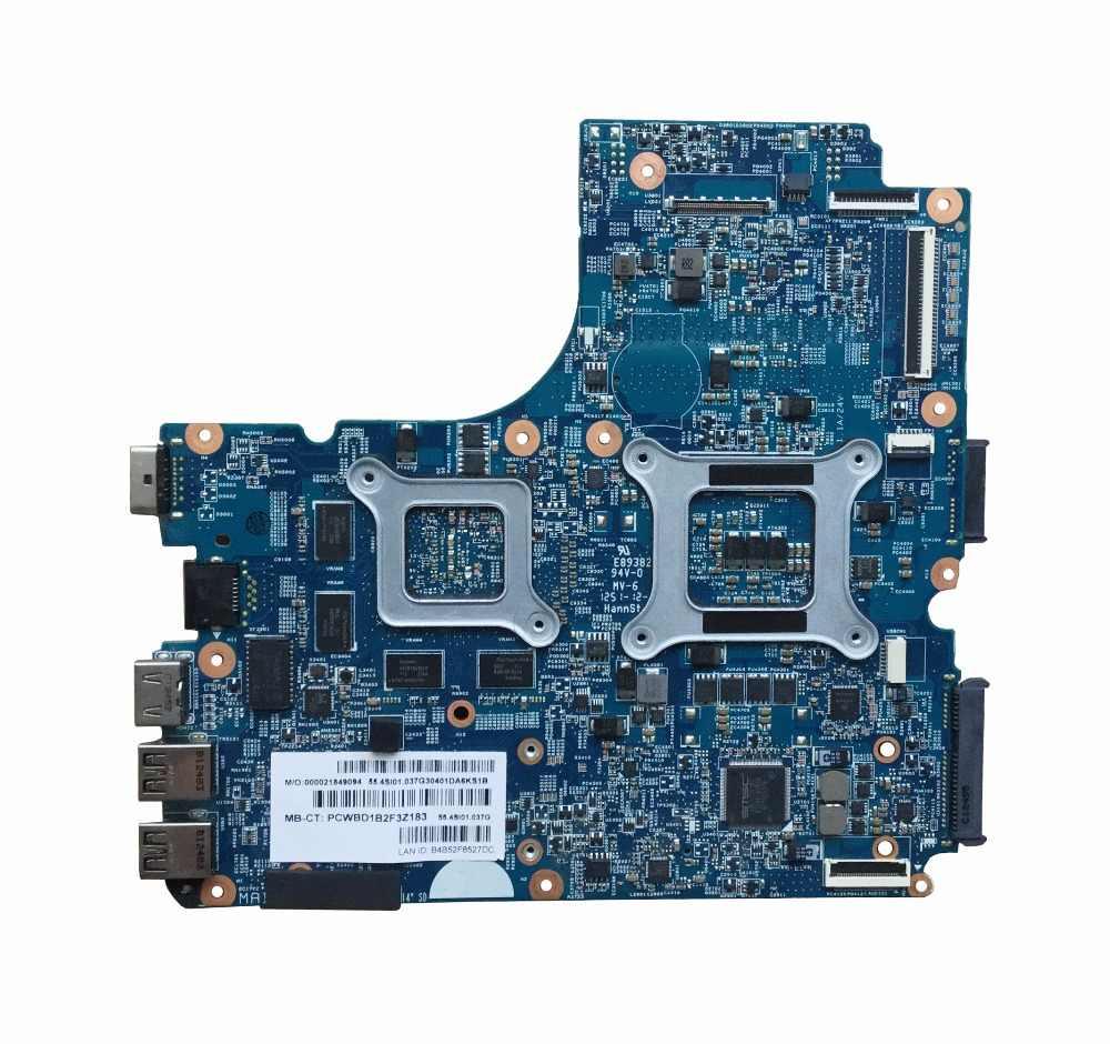 683494-001 para HP 4440s 4441s 4740s 4540s motherboard HM76 683494-501 HD7650M/2GB laptop motherboard totalmente testado