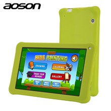 Aoson 7 Inch Kids Tablet PC 1GB 16GB Quad Core Android 6.0 Tablet 1024*600 IPS HD Tab Pre-install Kids Software Touch Stylus Pen