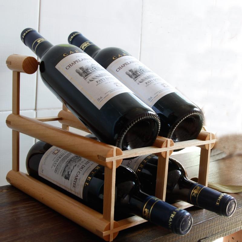 Popular wine rack diy buy cheap wine rack diy lots from for Diy wine bottle storage