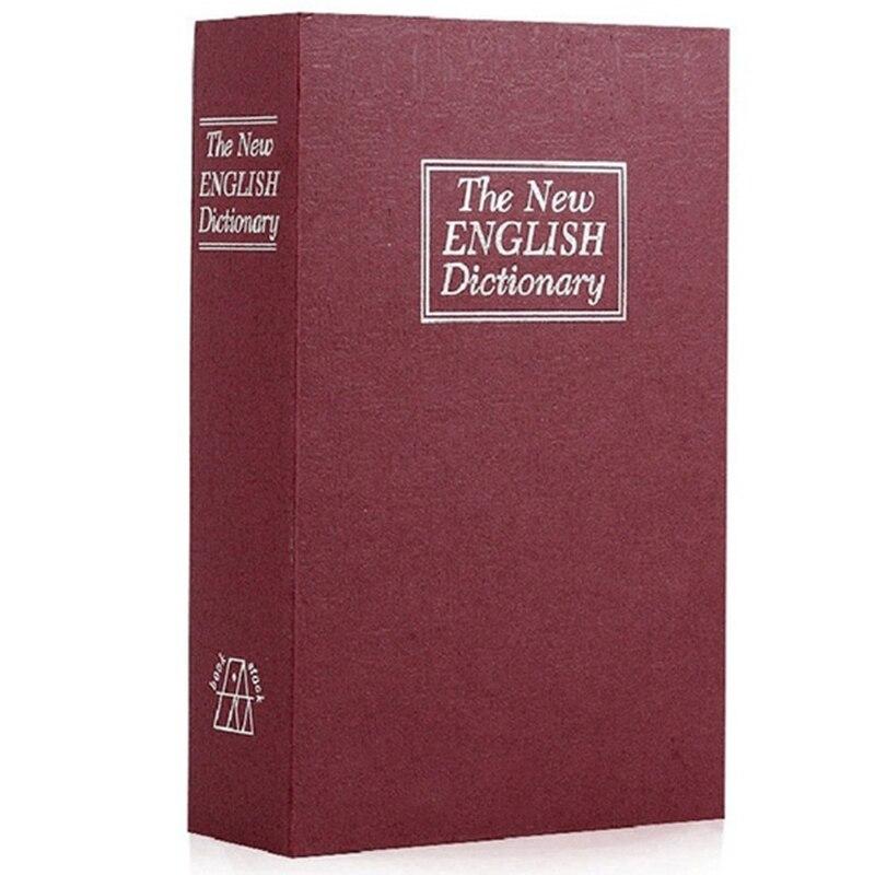 Dictionary Book Safe Diversion Secret Hidden Security Stash Booksafe Lock&Key