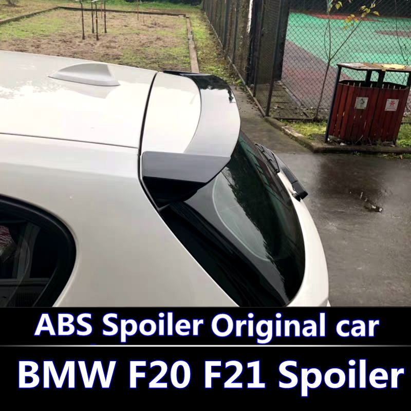 For <font><b>BMW</b></font> F20 <font><b>F21</b></font> <font><b>Spoiler</b></font> For 2011-2016 <font><b>BMW</b></font> 116 118 120 125 135 F20 <font><b>Spoiler</b></font> high quality ABS Material Car Color Rear <font><b>Spoiler</b></font> image