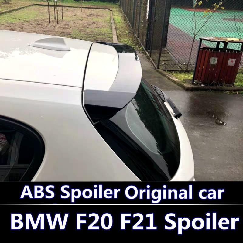 Pour BMW F20 F21 Spoiler pour 2011-2016 BMW 116 118 120 125 135 F20 Spoiler de haute qualité matériau ABS couleur de voiture aileron arrière
