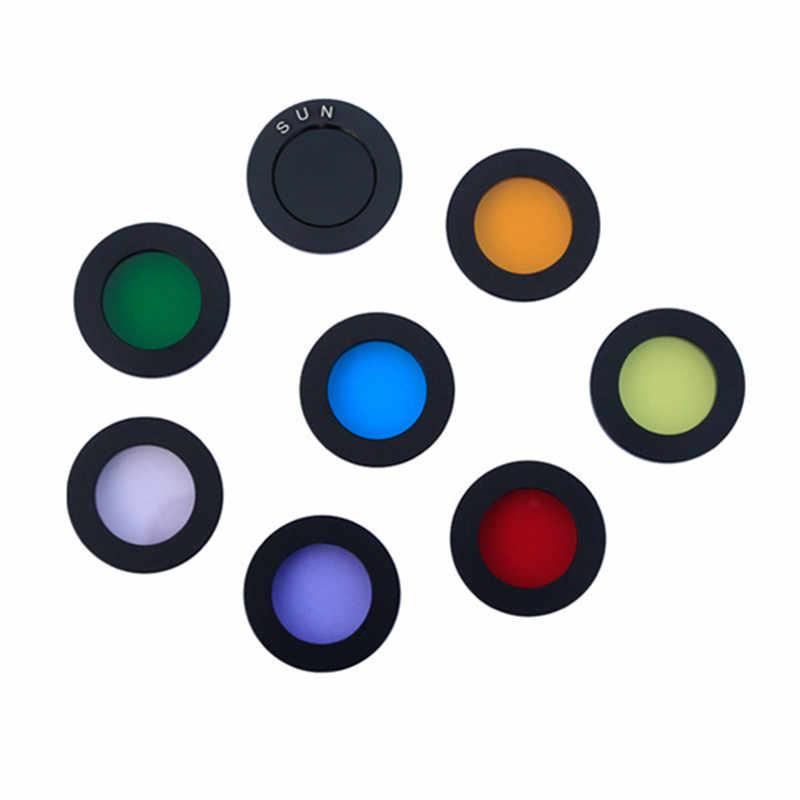 8PCS Datyson 1.25 인치 M28 현미경 필터 문 필터 천문 망원경 액세서리의 접안 렌즈
